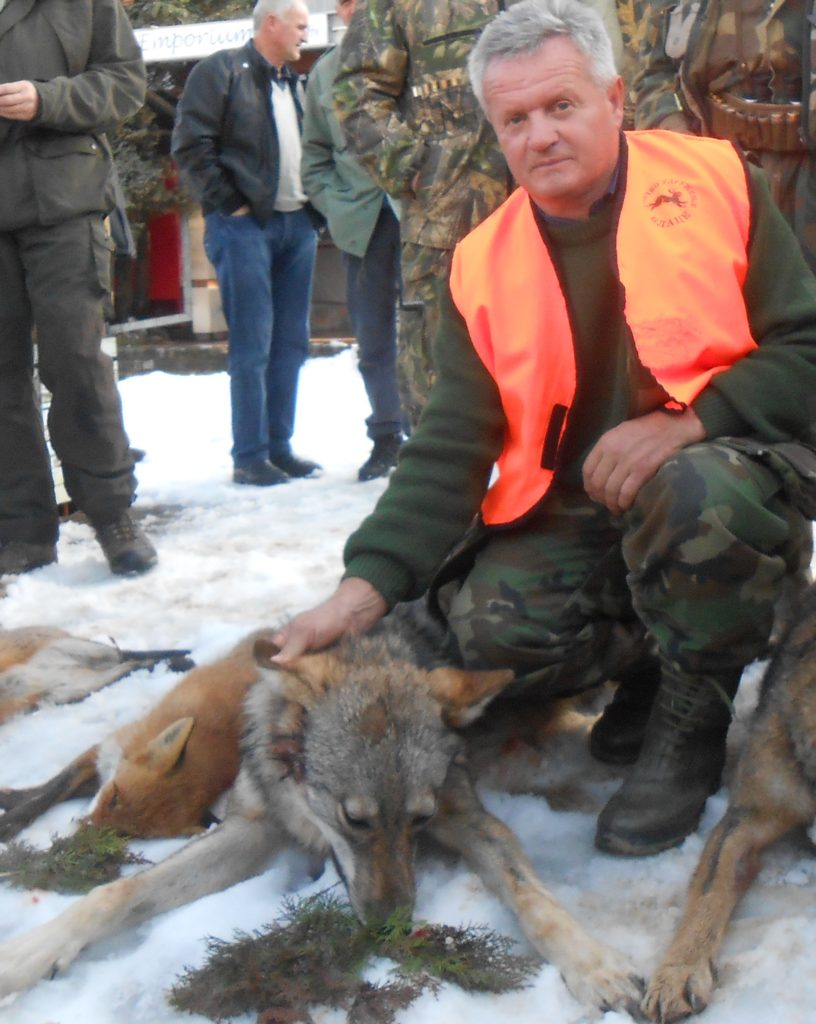 Slavko Kovacevic iz Novog Pazara odstrelio vuka