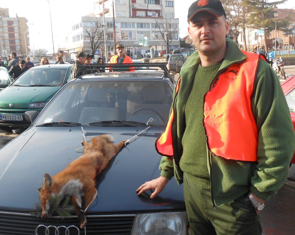 Zoran Branovic iz Kursumlije odstrelio lisicu
