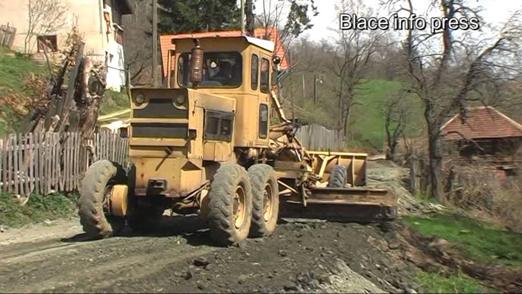 JKP Blace: Popravka puteva, kanala, propusta u Muzaću …