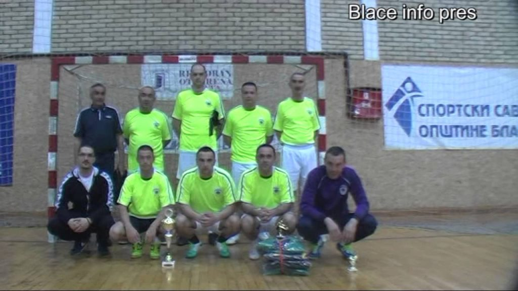 Policijska stanica osvojila turnir radnih organizacija – Blace 2016