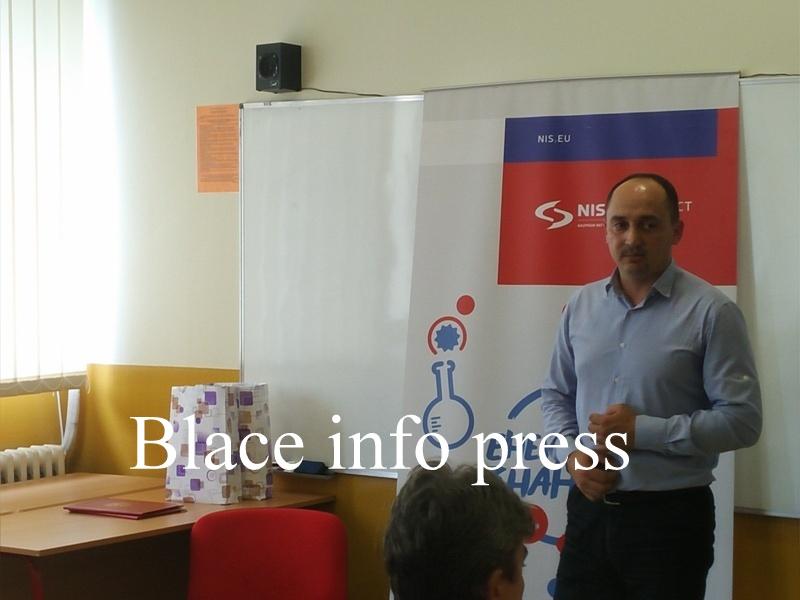 Predsednik Opštine Blace Milan Ćurčić